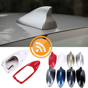 Gold Car Shark Fin Antenna Decor Roof Aerial With Radio Signal Fm Am Universal