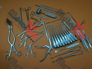 Laminectomy Set 35 Pcs Surgical Orthopedic Instruments By Mti