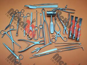 Basic Orthopedic Surgery Set Of 25 Pcs Surgical Instruments Best Quality By Mti