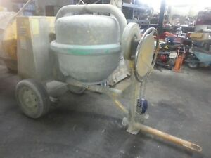 Used Cement Concrete Mixer 9cu 1 1 2 Bag Honda Gas