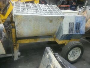 Used Mortar Mixer Stone toro 855pm 9cu 2 3 Bag Honda Gas