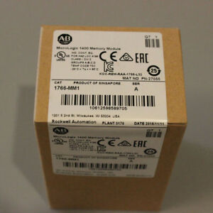 Allen Bradley Micrologix 1400 1766 mm1 factory Sealed Memory Module
