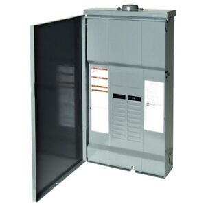Electrical Panel Box 200 Amp 12 space 12 circuit Outdoor Main Lug Load Center