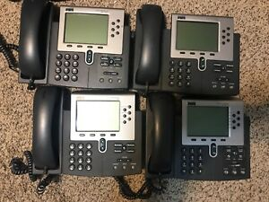 Cisco Systems Cisco Ip Phone 7960 Series Set Of 4 Phones