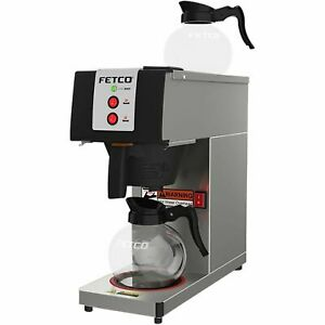 Fetco Cbs 2121 pw Pourover Coffee Brewer Maker 2 Warmers 120v 1600w