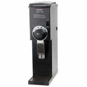 Bunn 22100 0000 G3 Hd 3 Lb Black Bulk Retail Shop Coffee Grinder 120v