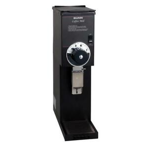 Bunn 22102 0000 G2 Hd 2 Lb Black Bulk Retail Shop Coffee Grinder 120v