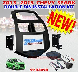 2013 2015 Chevy Spark Double Din Car Stereo Installation Kit With Interface