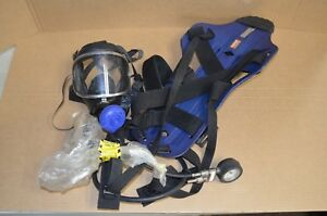 Draeger 30 Minute Oxygen Breather Niosh Msha Frame Harness With Panorama Mask