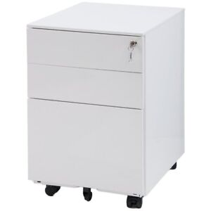 Modernluxe Mobile Metal File Cabinet Fully Assembled Except For 5 Castors