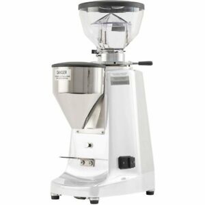 Mazzer La Marzocco Lux D Espresso Grinder White On Demand White