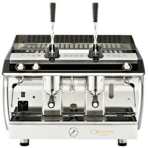 Astoria Gloria Lever Piston Al2 2 Group Espresso Machine Black Gas 220v 4400w