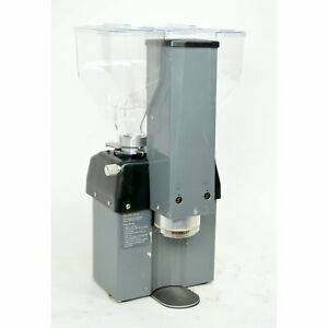 La Marzocco Swift Epsb Automatic Espresso Coffee Grinder Twin Hoppers 8 Lb Gray
