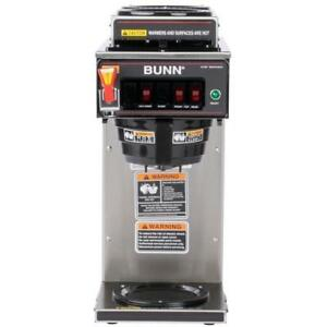 Bunn 12950 0213 Cwtf15 Automatic 12 Cup Coffee Brewer Plastic Funnel 3 Warmers