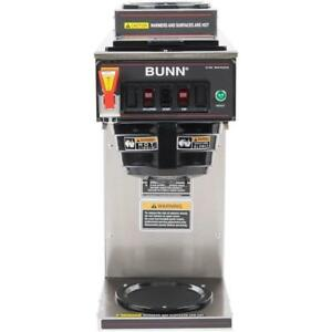 Bunn 12950 0211 Cwtf15 2 12 Cup Automatic Coffee Brewer Water Tap 120v 2 Warmers