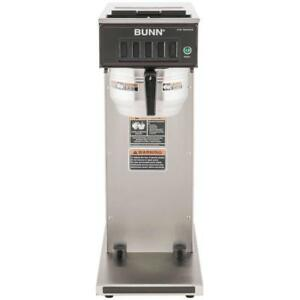 Bunn 23001 0062 Cw15 aps Pourover Airpot Brewer Stainless Gourmet Funnel 120v