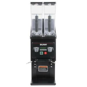 Bunn 35600 0022 Mhg Black Multi Hopper Coffee Grinder Removable Hoppers 120v