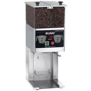 Bunn 36400 0000 Fpg 2 Dbc French Press Coffee Grinder 6 Lb Double Hopper 120v