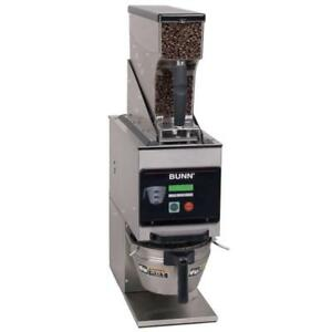 Bunn 40700 0001 G9wd rh Weight Driven 6 Lb Coffee Grinder 120v