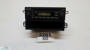 03 11 Honda Element Front Center Dash Am Fm Radio Cd Player W Cd Tray Oem