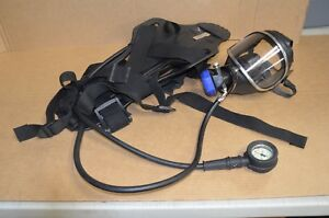Draeger Pa 90 4500 Psig Oxygen Breather Frame Harness With Panorama Mask