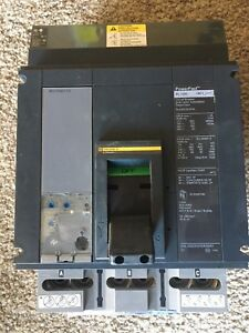 New Square D Pla34120u31a 3 Pole 1200 Amp 600v Powerpact Circuit Breaker