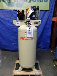Ingersoll Rand 5 Hp 60 Gallon Electric Stationary Air Compressor 18 1 Cfm 230v