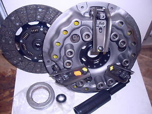 Ford 2000 2100 2110 3000 3100 3120 3190 3300 3310 10 Spline Tractor Clutch Kit