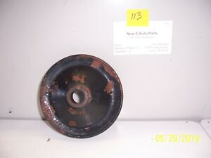 Power Steering Pulley Buick Olds Pontiac Gm 1246472 Used
