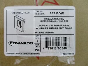 new Edwards Fsp1004r Conventional Fire Alarm Control Panel