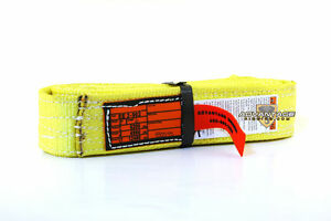 Ee2 902 6 Nylon Lifting Sling Strap 2 Inch 2 Ply 6 Foot Feet Package Of 4