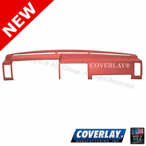 Red Dash Board Cover 10 725 rd For Datsun D21 Pickup Hard Body coverlay