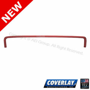 Red Dash Board Cover 12 303 rd For Thunderbird Front Upper coverlay