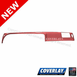 Red Dash Board Cover 12 307 Rd For Thunderbird Front Upper Coverlay