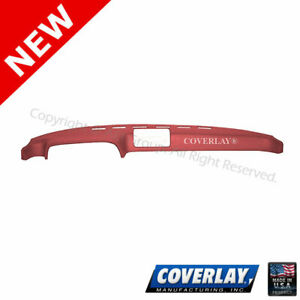 Red Dash Board Cover 20 924 Rd For Porsche Front Upper Coverlay
