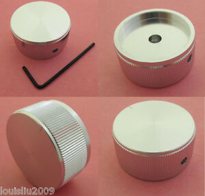 6x High Quality Aluminum Audio Rotary Pots Knob 40x20mm