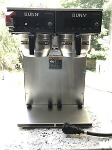 Bunn Double Airpot Commercial Coffee Maker Brewer Gourmet Funnel Cwtf Twin aps