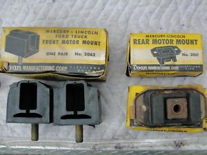 1949 1951 Lincoln 337 Engine Motor Mounts Transmission Mounts