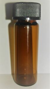 99 Glacial Acetic Acid 1000x 1 Dram 4ml Amber Glass Vial Bulk Vials