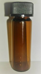 Benzyl Alcohol 1000x 1 Dram Amber Glass Vial 4ml