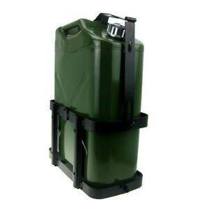 Jerry Can Holder Mount Gas Rack Fuel Gasoline Military Metal 5 Gallon 20 Liter