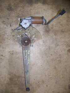 1968 Chrysler Imperial Rh Front Power Window Motor 2486832 Regulator Oem