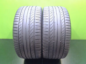 2 Nice Continental 255 40 18 Contisportcontact 5 95y Runonflat Tires Tech 46609