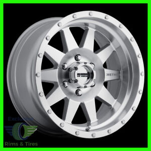 15 Inch Method Wheels Mr301 Standard Machined Offroad Rims Ford Ranger More