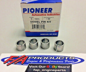 Pioneer S 1111 Cylinder Head Dowel Pin Kit For Big Block Chevy 396 427 454