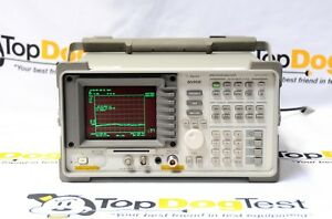 Hp Agilent Keysight 8595e 041 9khz To 6 5ghz Spectrum Analyzer Calibrated