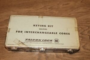 Falcon Lock Keying Kit Wafers For Interchangeable Cores Locksmith Part 2384 e6