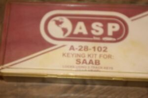 Asp Keying Kit For Saab A 28 102 e6
