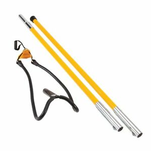 Sherrilltree Set1027d Big Shot Kit Throw Line Launcher Standard Black yellow