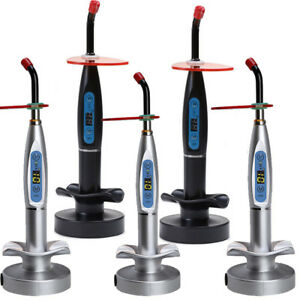 Dental 10w Wireless Cordless Cure Led Curing Light Lamp 2000mw Woodpecker Pack